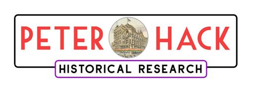 Peter Hack – Historical Research Logo