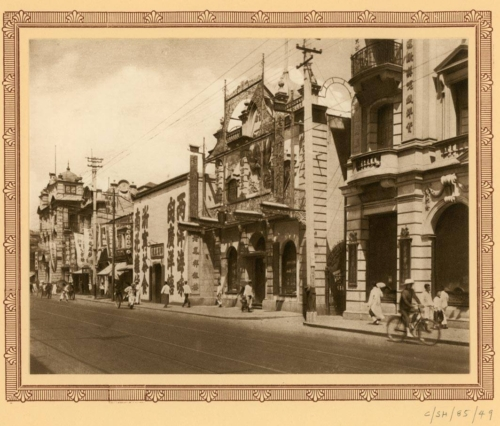 Plate-19-Chinese-shops-on-Nanking-Road