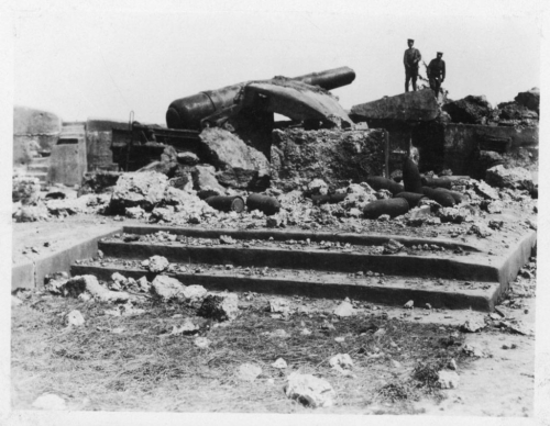 img198-Bombed-artillery-emplacement-at-the-Woosung-Forts-F
